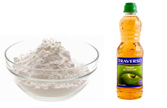 Champ natural de bicarbonato y vinagre de manzana for Ambientador con suavizante y bicarbonato