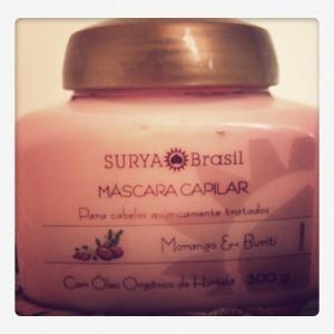Máscara Morango y Burutí de Surya Brasil