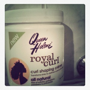 royal curl shapping creme
