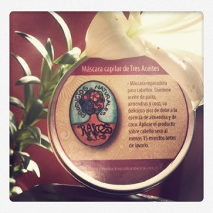crema capilar tres aceites productos naturales raíces