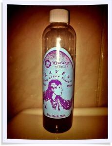 wiseways herbals apple cider vinegar hair rinse raven
