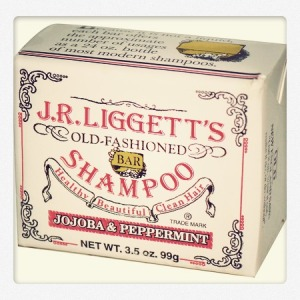 J.R. Liggett's, Old-Fashioned Bar Shampoo, Jojoba & Peppermint, 3.5 oz (99 g)