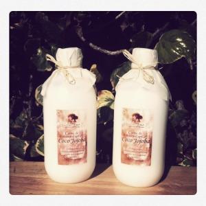 crema de masaje capilar coco jojoba