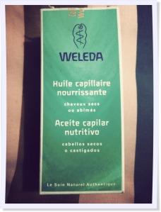 aceite capilar weleda