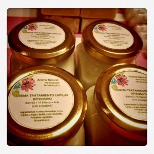 Crema capilar tratamiento intensivo taller arome
