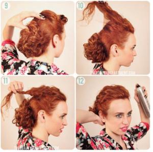 peinados para pelo crespo
