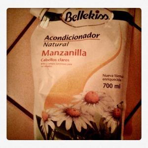 acondicionador de manzanilla bellekiss