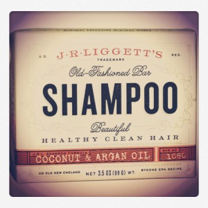 J. R Ligget's Bar Shampoo Coconut and Argan Oil