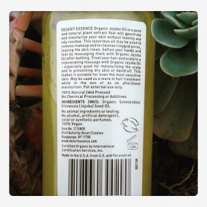 ingredientes aceite de jojoba