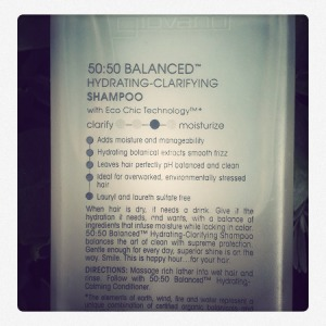Giovanni 50:50 balance shampoo